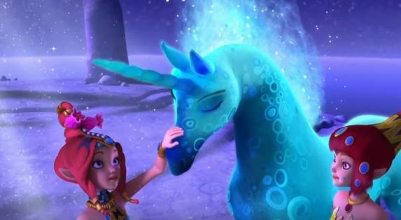 mia and me 3 -mia and me personaggi Kuki -mia and me immagini -mia and me cartone - unicorno della luna