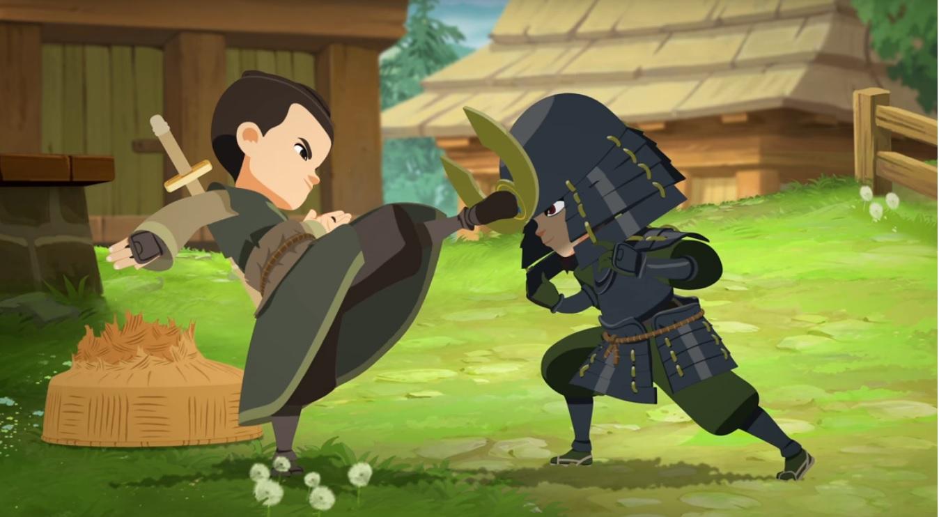 Mini ninjas cartoni animati rai gulp disney cyber studios bambini 6 - 11 anni serie animate