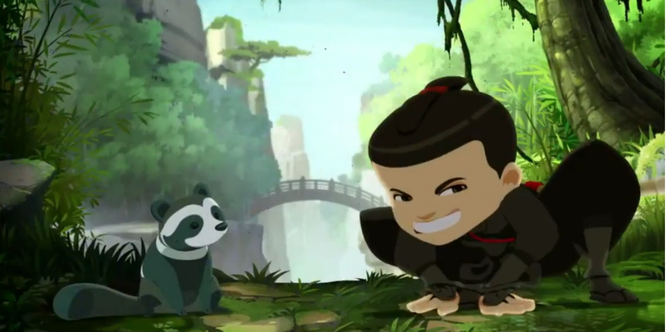 Cartone Mini ninjas cartoni animati rai gulp disney cyber studios bambini 6 - 11 anni serie animate