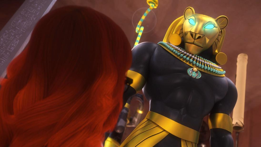 Mracolous le storie di ladybug e chat noir cartone animato Cattivi Faraone cattivo