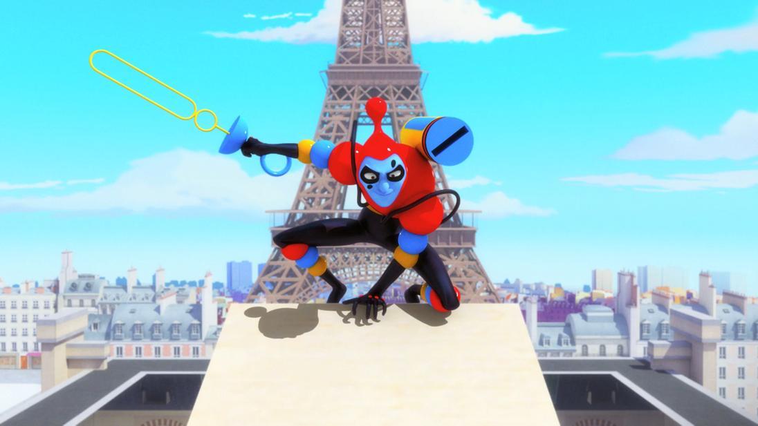 Mracolous le storie di ladybug e chat noir cartone animato Cattivi Sparabolle