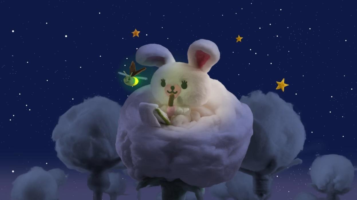 Mofy - Cartoni animati - Coniglietta bianca su un batuffolo di cotone - Misseri Studio - Rai Yoyo