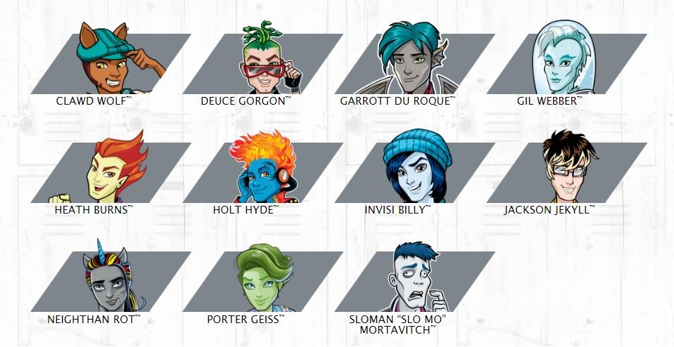 Monster High - Mostromaschi