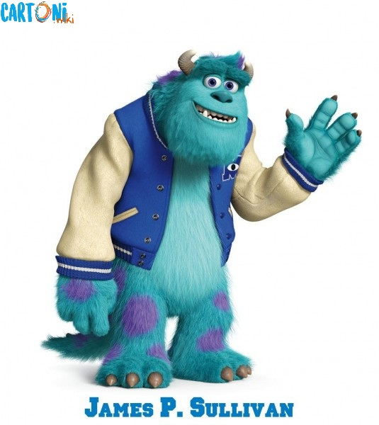 Monsters University James P. Sullivan personaggi film disney pixar mostri monsters university characters