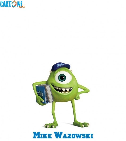 Monsters UniversityMike Wazowski personaggi film disney pixar mostri monsters university characters