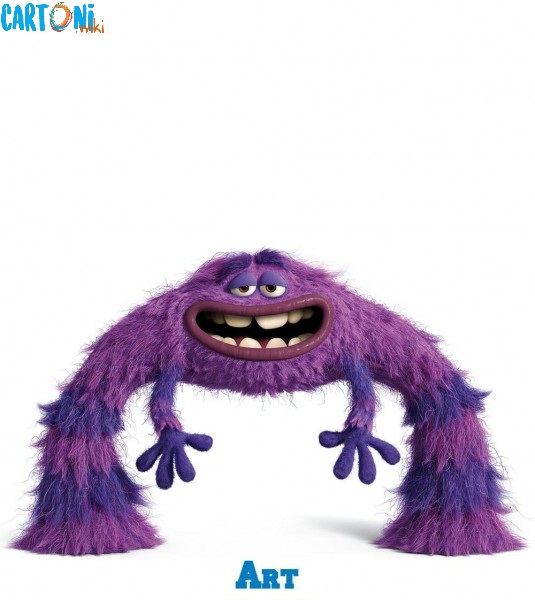 Monsters University Art personaggi film disney pixar mostri monsters university characters