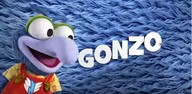 Muppet Babies 2018 Gonzo persoanggi characters
