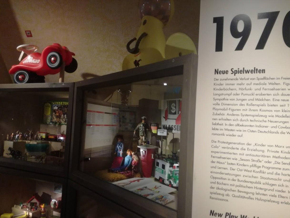 Museo dei giocattoli Norimberga - Storia del giocattolo dal 1945 ad oggi - storia giochi - musei bambini