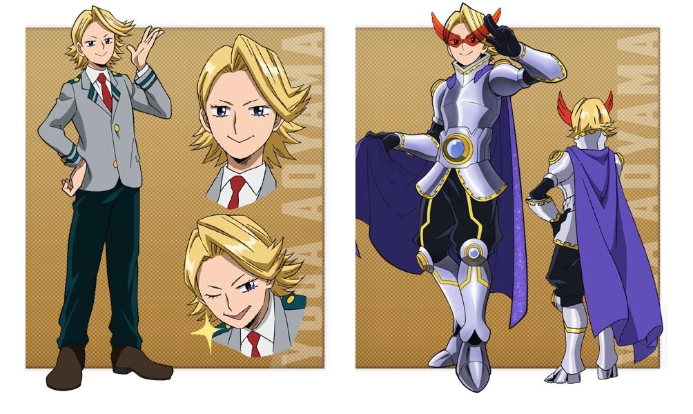 My Hero Academia personaggi - Yuga Aoyama - Anime - Italia 2 - Costume - Quirk - Hero - personaggio - characters