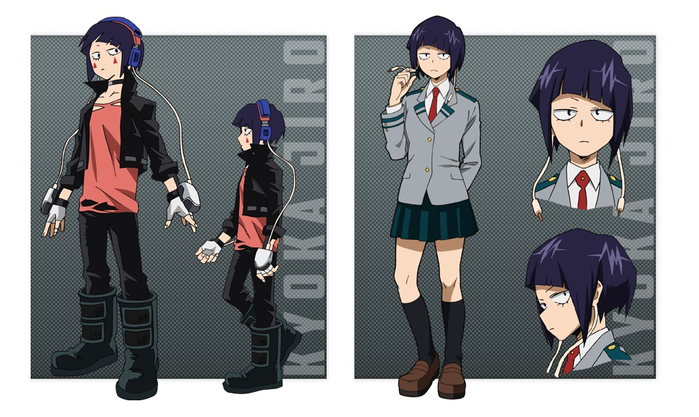 My Hero Academia personaggi - Kyoka Jiro - Anime - Italia 2 - Costume - Quirk - Hero - personaggio - characters
