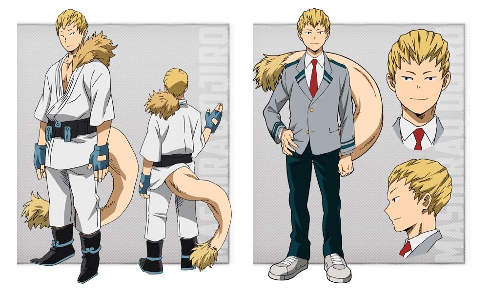 My Hero Academia personaggi - Mashirao Ojiro - Anime - Italia 2 - Costume - Quirk - Hero - personaggio - characters