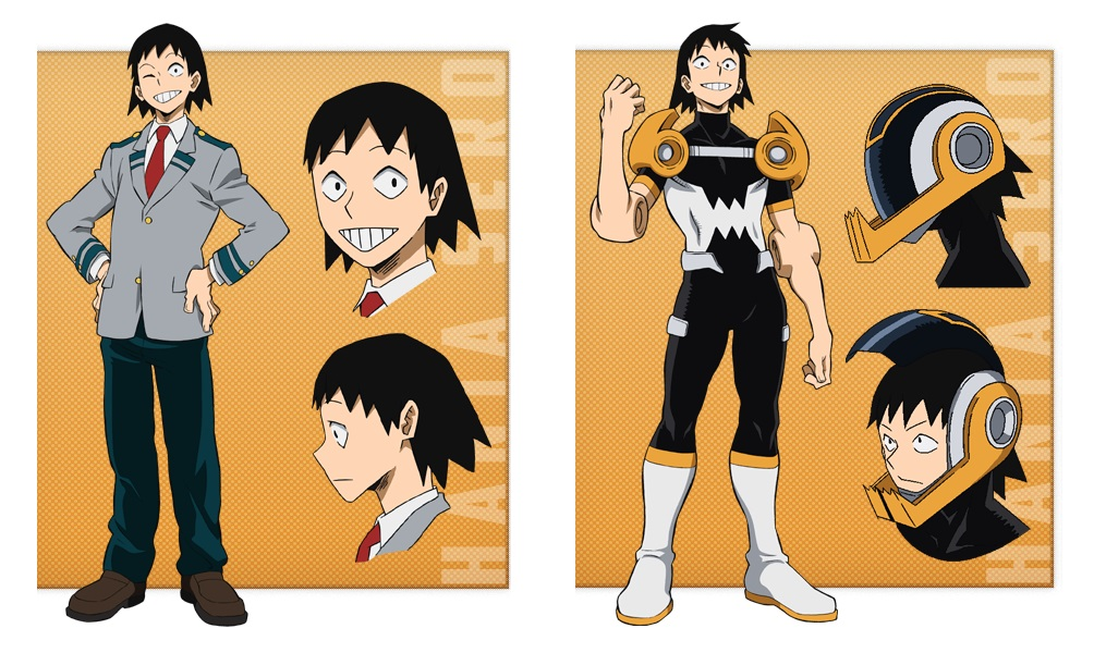 My Hero Academia personaggi - Hanta Sero - Anime - Italia 2 - Costume - Quirk - Hero - personaggio - characters