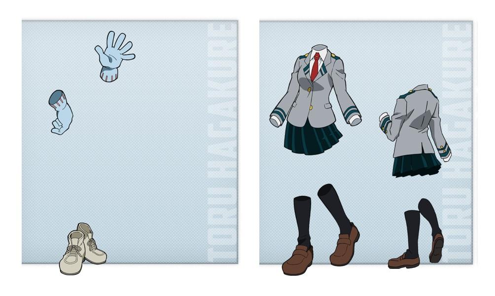 My Hero Academia personaggi - Toru Hagakure - Anime - Italia 2 - Costume - Quirk - Hero - personaggio - characters