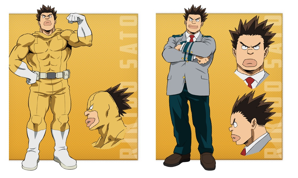 My Hero Academia personaggi - Rikido Sato - Anime - Italia 2 - Costume - Quirk - Hero - personaggio - characters