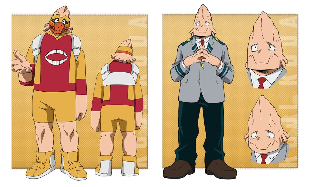 My Hero Academia personaggi - Koji Koda - Anime - Italia 2 - Costume - Quirk - Hero - personaggio - characters