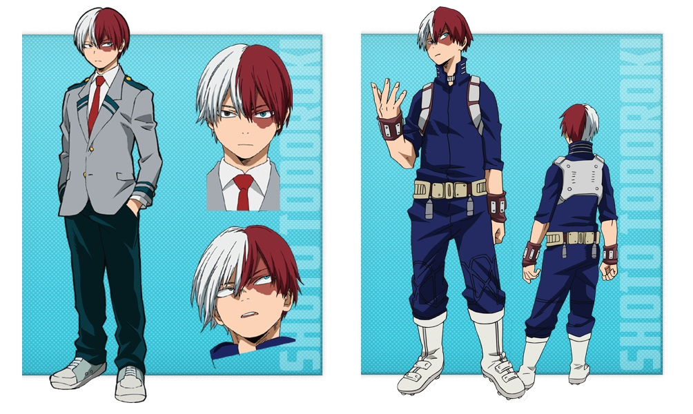 My Hero Academia personaggi - Shoto Todoroki - Anime - Italia 2 - Costume - Quirk - Hero - personaggio - characters