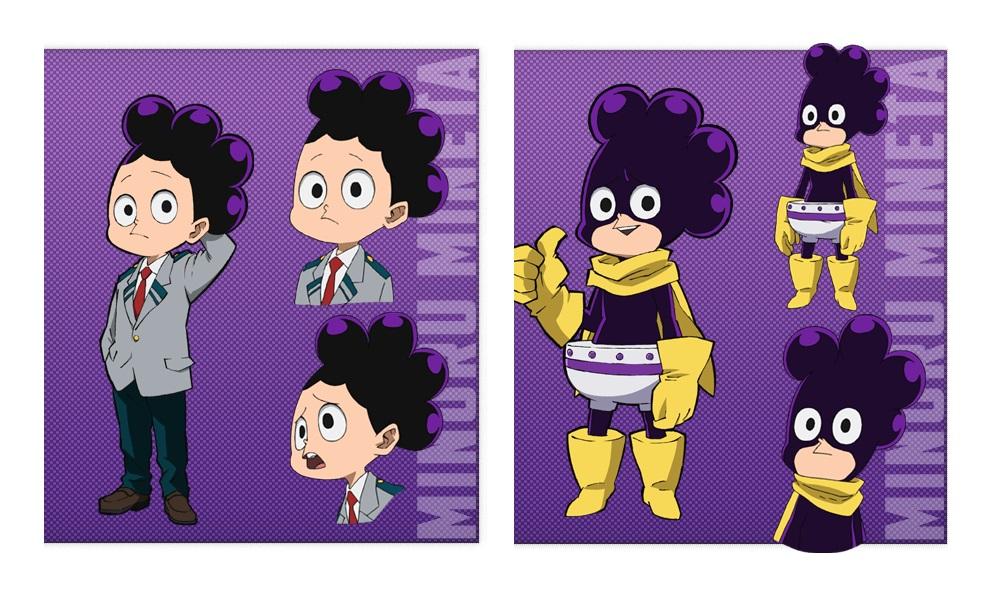My Hero Academia personaggi - Minoru Mineta - Anime - Italia 2 - Costume - Quirk - Hero - personaggio - characters