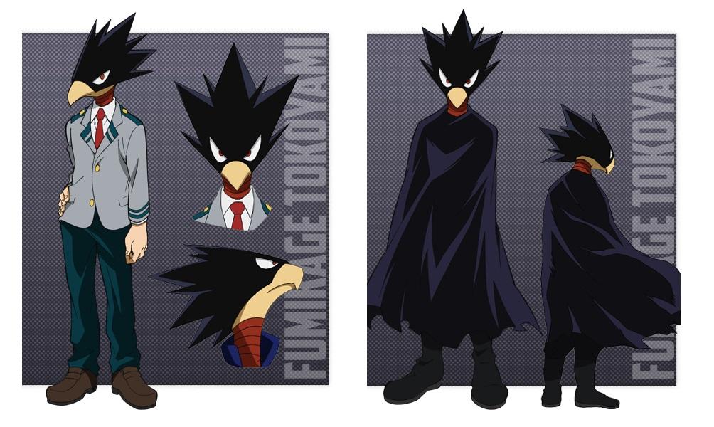My Hero Academia personaggi - Fumikage Tokoyami - Anime - Italia 2 - Costume - Quirk - Hero - personaggio - characters