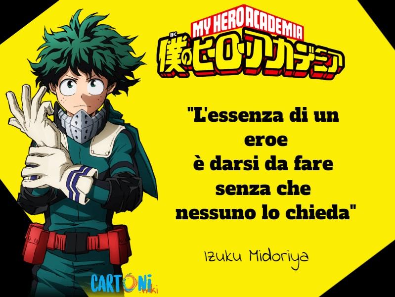 My hero academia le frasi più belle