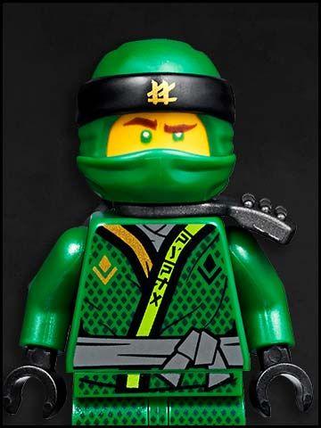 Lego Ninjago cartone animato - personaggi - ninja verde - Kai - green ninja Llyod