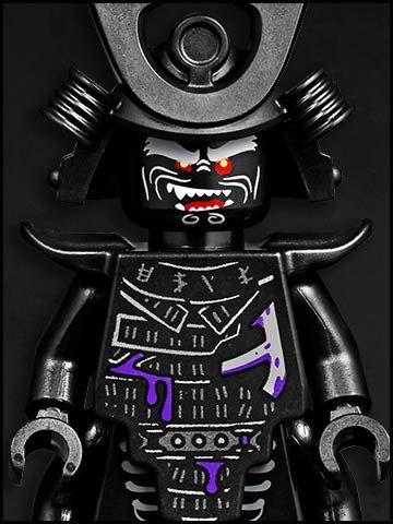 Lego Ninjago cartone animato - personaggi - ninja Lord Garmado