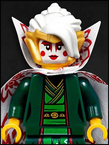 Lego Ninjago cartone animato - personaggi - Princess Harumi Jade