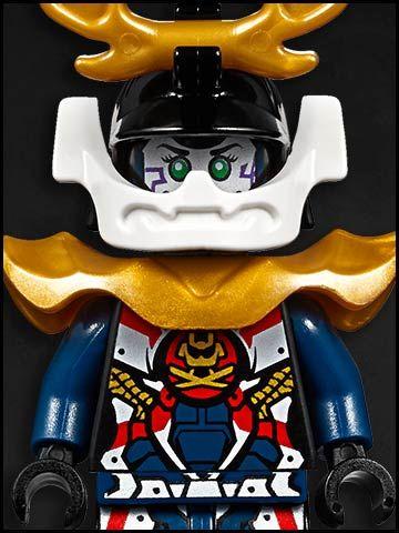 Lego Ninjago cartone animato - personaggi - Samurai X