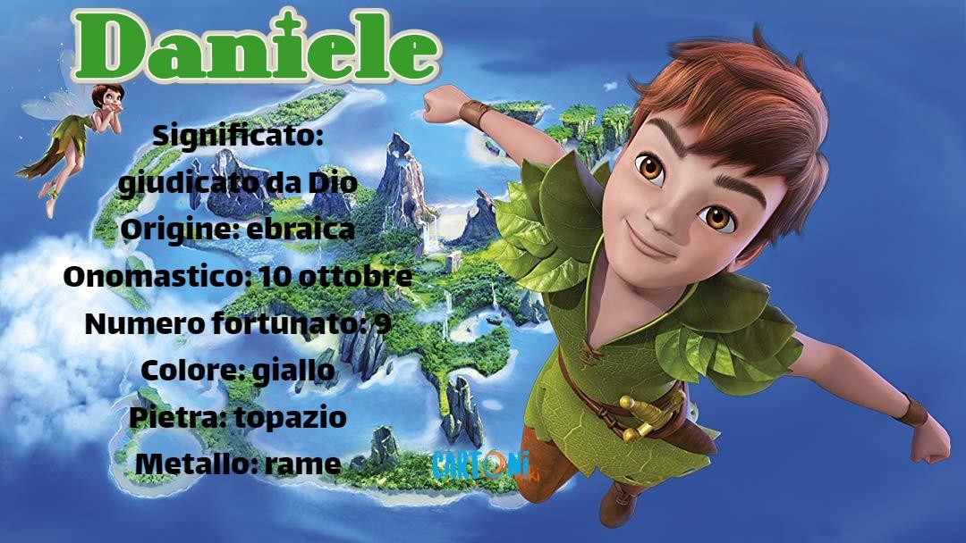 Daniele origine e significato del nome - Cartoni animati