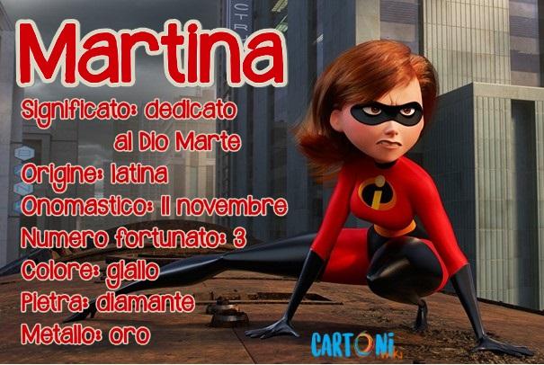 Martina origine e significato del nome