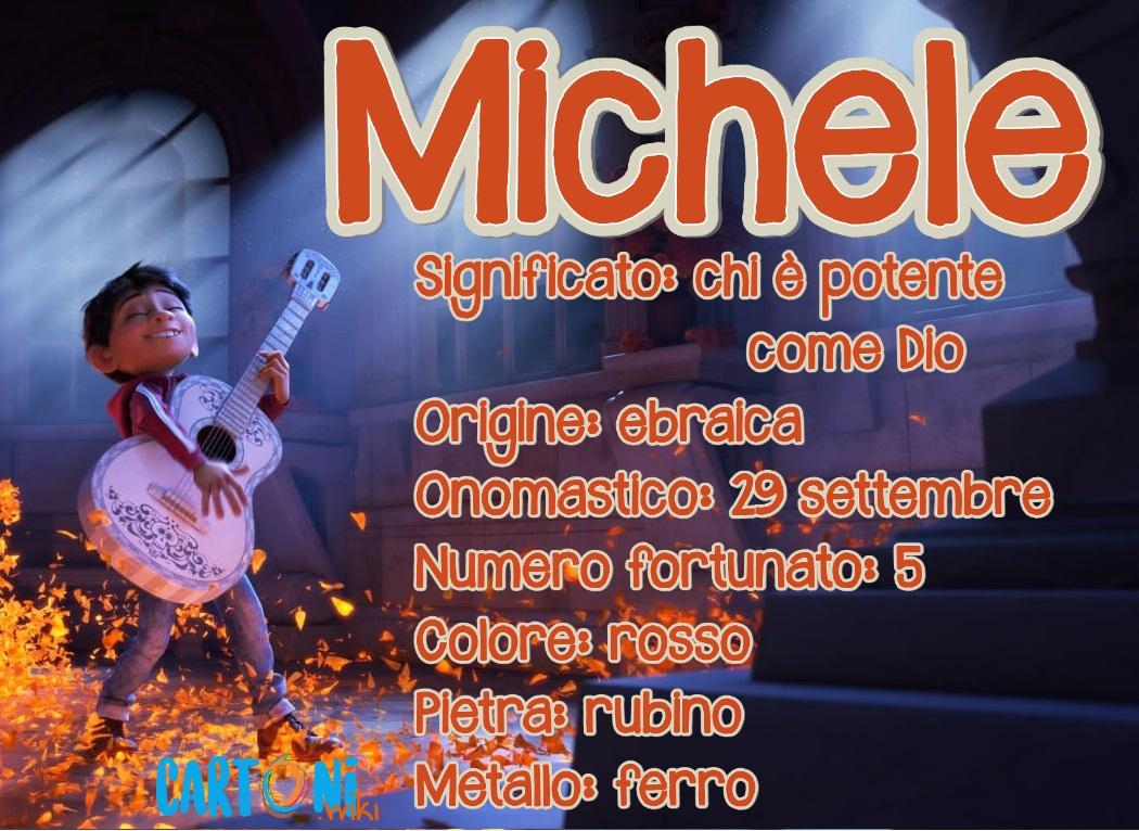 Michele significato del nome e origine - Michele