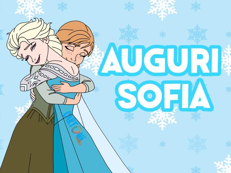 Sofia auguri - Cartoni animati