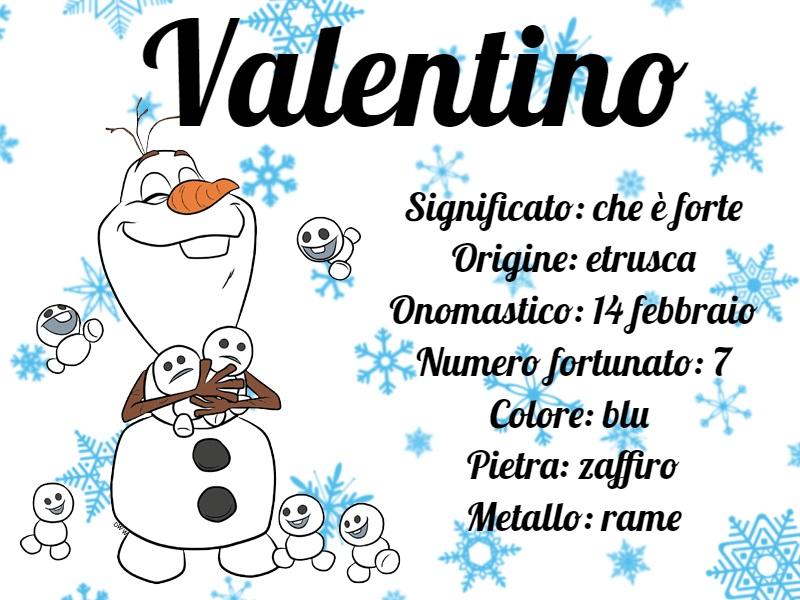 Valentino origine e significato del nome maschile - Cartoni animati