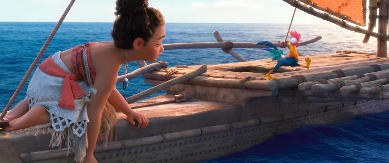 Oceania - Moana - film di animazione Disney - anno 2016 - Maui - Vaiana - Film Disney - Cartoni animati