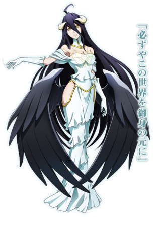 Overlord - Character Albedo - sovrano della Grande Catacomba di Nazarick - personaggi - anime yamato video animation
