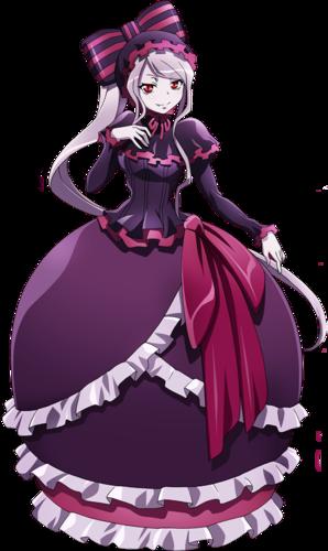 Overlord - Character Shaltear Bloodfallen - sovrano della Grande Catacomba di Nazarick - personaggi - anime yamato video animation