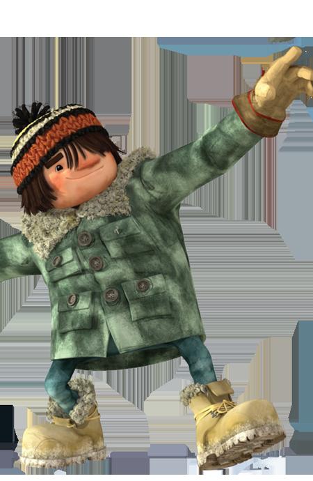 cartoni animati film d'animazione 2016 Chuck personaggi notorius palle di neve snowtime