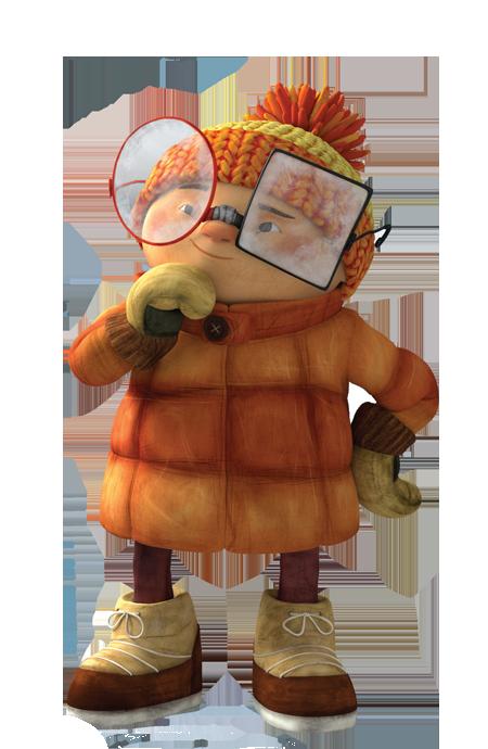 cartoni animati film d'animazione 2016 Franckie personaggi notorius palle di neve snowtime