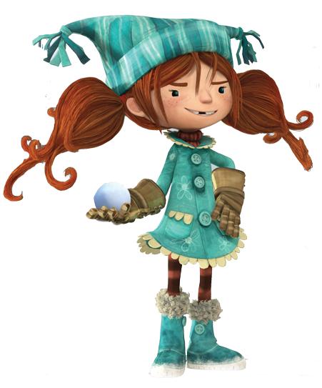 cartoni animati film d'animazione 2016 Lucy personaggi notorius palle di neve snowtime