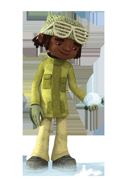 cartoni animati film d'animazione 2016 Manolo personaggi notorius palle di neve snowtime