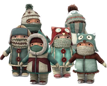 cartoni animati film d'animazione 2016 mini-toons personaggi notorius palle di neve snowtime