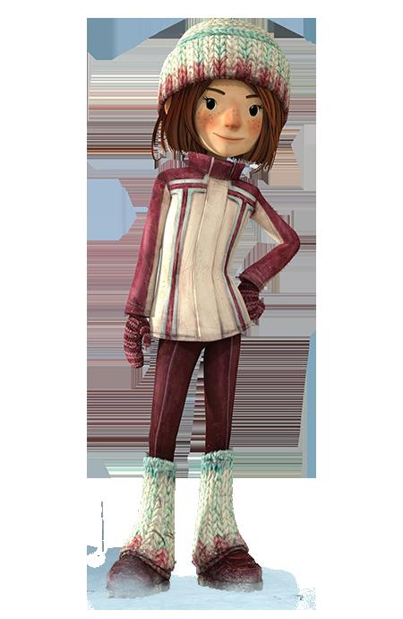 cartoni animati film d'animazione 2016 Sophie personaggi notorius palle di neve snowtime