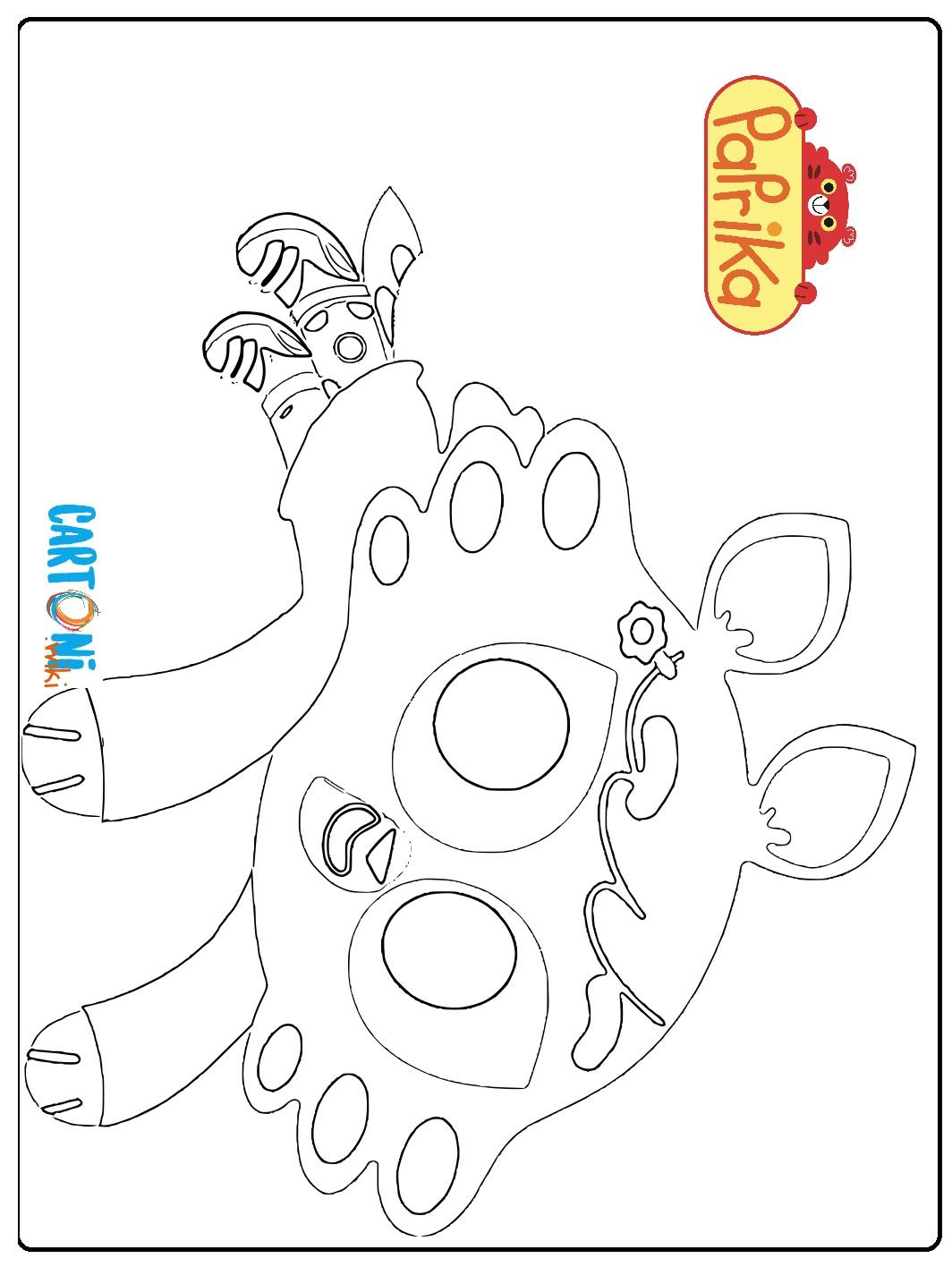 Colora Olivia del cartone Paprika - Disegni da colorare
