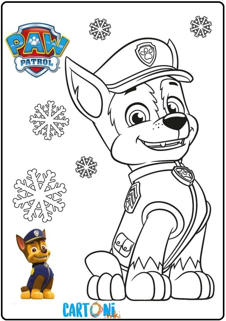 Paw patrol disegni per bambini cartoni animati for Stampa disegni da colorare