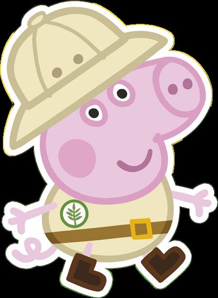George Pig clipart png - Cartoni animati