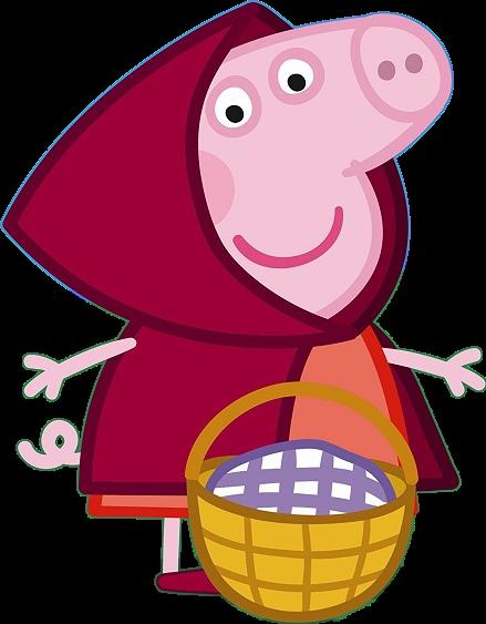 Peppa pig clipart Cappuccetto rosso - Cartoni animati