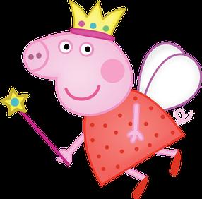 Peppa Pig fatina clipart - Cartoni animati