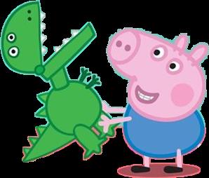 George pig and dinosaur - Cartoni animati