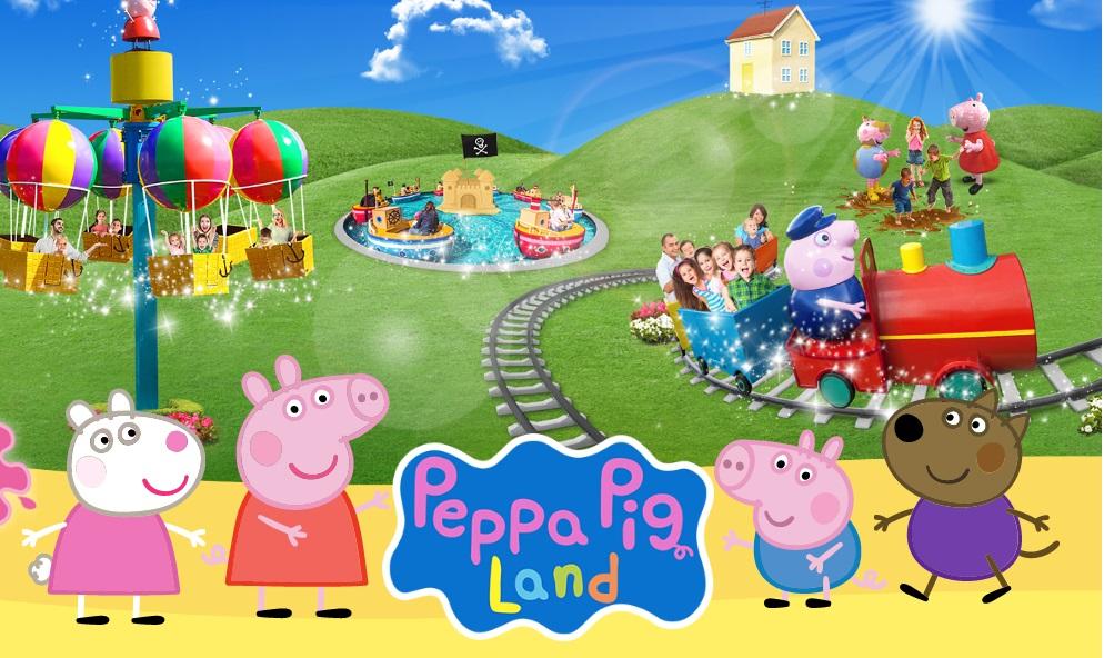 Peppa Pig la zona dedicata a peppa pig nel parco a tema gardaland