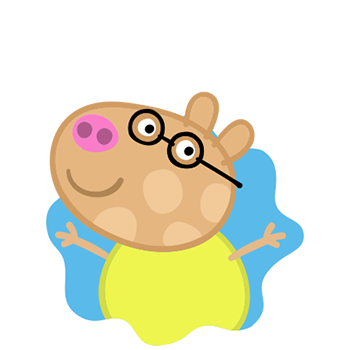 Peppa Pig Personaggi Peppa maialina cartoni animati Characters Pedro Pony