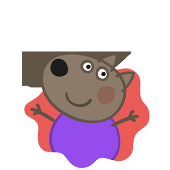 Peppa Pig Personaggi Peppa maialina cartoni animati Characters Danny Dog Danny Cane